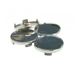 WHEEL CAP CHROMED 58MM (4 PCS)