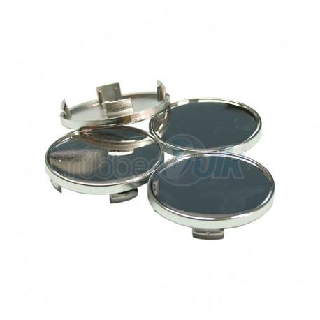 WHEEL CAP CHROMED 55MM (4 PCS)
