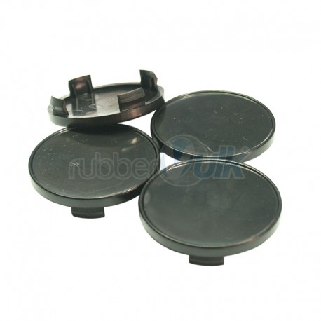 WHEEL CAP BLACK 56MM (4 PCS)