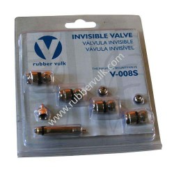 VALVE SETS, 4 VALVES+1 ADAPTOR+2 DUST CAP/BLISTER