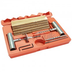 REPAIRING TOOL KIT IN PLASTIC BOX