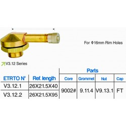 EUROPEAN STYLE CLAMP-IN VALVE (10 PCS)