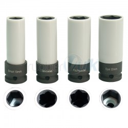 SPECIFIC DEEP SOCKETS W/ PROTECTION FOR CAR BRANDS