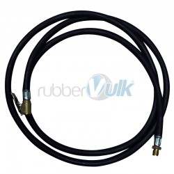 MANOMETER RUBBER HOSES,FEMALE FITTING AND AIR CHUCK LENGTH 1.5mts