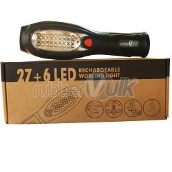 RECHARGEABLE WORKING LED 27+6UV